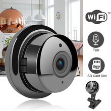 SNOSECURE HD 720P MiNi IP Camera Home Security Dvr Night Vision Motion Detect Mini Camcorder 2-Way Audio Easy Install WiFi Cam