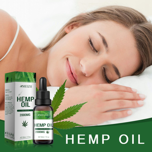 Ameizii Herbal Essential Hemp Seed Body Massage Essential oil Skin Care Relieves pain Improves sleep Relief Anti Anxiety TSLM1