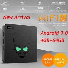 Nueva llegada Beelink GT-rey WIFI6 Android 9,0 TV BOX Amlogic S922X GT rey 4GB 64GB Dispositivo de TV inteligente 2,4G/5G Dual WIFI6 1000M LAN