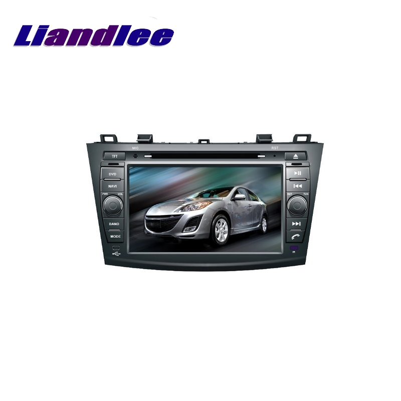 Liandlee For <font><b>Mazda</b></font> <font><b>3</b></font> 2008~2013 LiisLee Car Multimedia TV DVD <font><b>GPS</b></font> Audio Hi-Fi Radio Stereo Original Style Navigation NAV NAVI <font><b>MAP</b></font> image