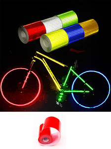 Sticker Tape Reflective-Film Safety Motorcycles Car 5cmx3m Automobile Car-Styling