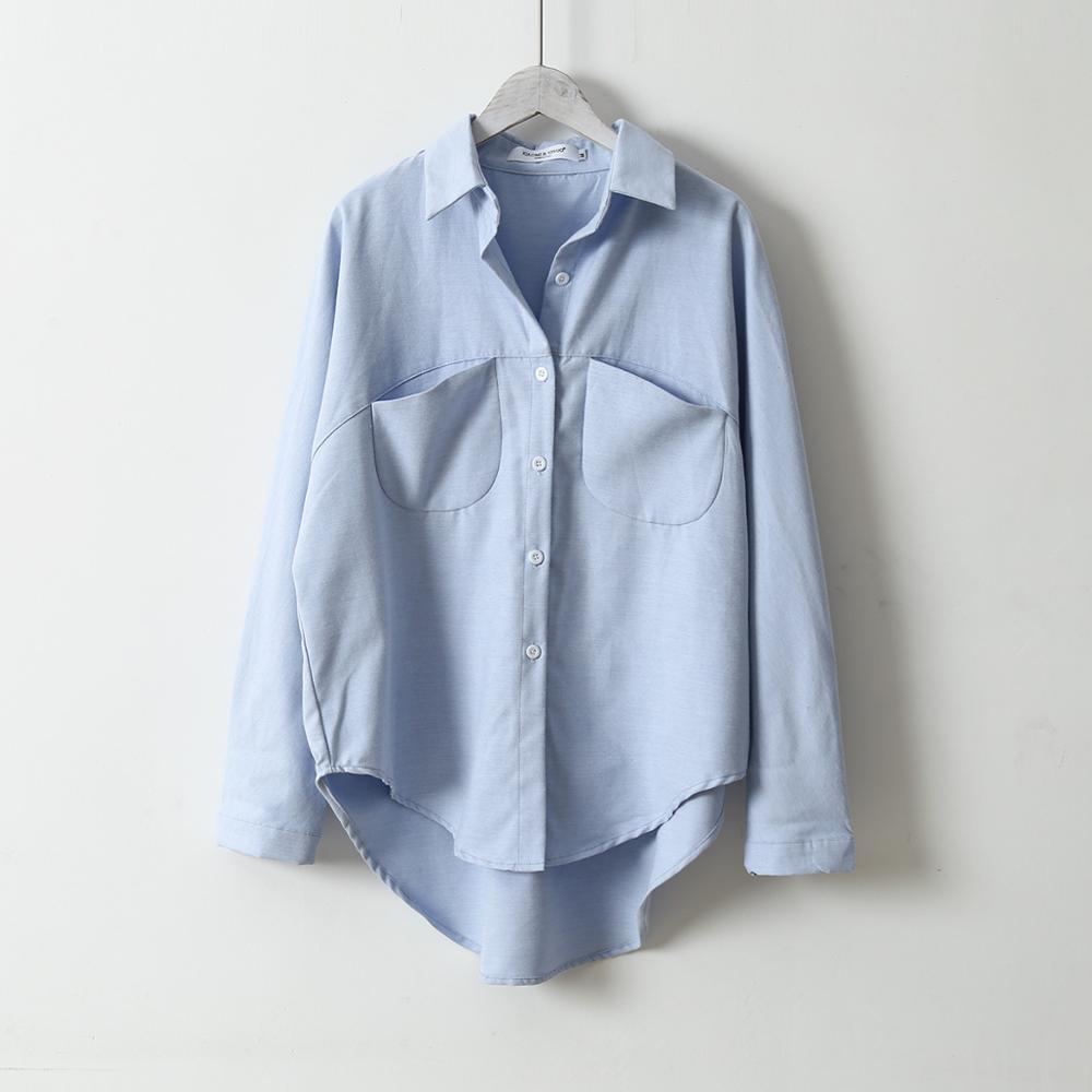 2020 Spring Women Summer Blouse Korean Long Sleeve Womens Tops And Blouses Vintage Women Shirts Blusas Roupa Feminina Tops 4