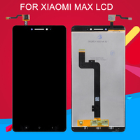 Dinamico 6.44inch Display For Xiaomi Mi Max LCD With Touch Screen Digitizer Assembly Mi Max Lcd With Frame Free Shipping