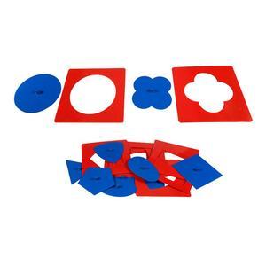 Детские игрушки, материалы Монтессори, профессиональный качественный Металлический Набор вставок