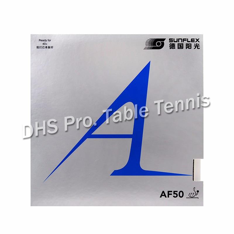 1x SUNFLEX Original AF50 Silver Pimples In Table Tennis Rubber Pips-In Ping Pong Sponge Tenis De Mesa