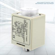 купить AH3-NB time relay 3S-30M Knob Control Time Relay AC 220V Power On Delay Timer Relay дешево