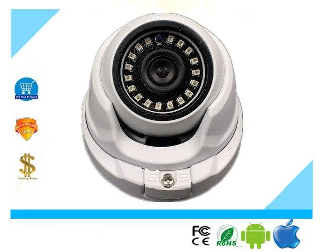 5.0MP 4.0MP 3.0MP 2.0MP H.265 IP Metal Dome Camera 2592*1944 2560*1440 2304*1296 1920*1080 ONVIF CMS XMYE IRC NightVision P2P