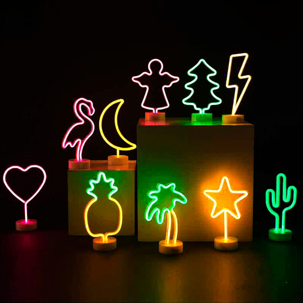 LED Neon Decoration Mariage LED Light Wedding Party Holiday DIY Decorations Holiday Xmas Baby Shower Decoration Room Home Decor