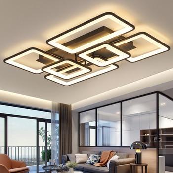 LED Chandelier Modern Ceiling chandeliers Lighting Lustre For Living Room Bedroom kitchen With Remote Control Light Fixtures 1