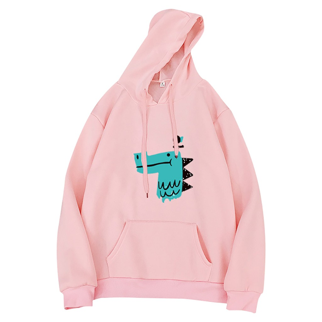 Fashion Harajuku Hoodies And Sweatshirts Women Casual O-Neck Top Printed Long Sleeve Hoodie Pullover Sweatshirt Busos Para Mujer