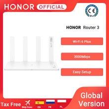 Version mondiale d'origine Huawei Honor routeur 3 Wifi 6 + 3000Mbps routeur sans fil double bande routeur maison intelligente