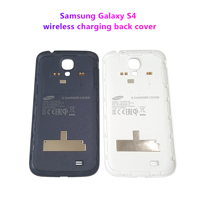 Samsung Galaxy S4 Recharge Sans Fil Couverture Arrière Pour Samsung S4 i9500 i9508 i9505 i9507V R970 i337 i545 i545L L720 SC04E N045