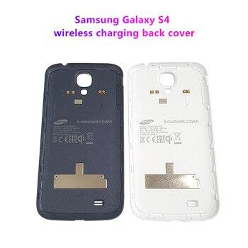 цена на Samsung Galaxy S4 Wireless Charging Back Cover For Samsung S4 i9500 i9508  i9505 i9507V R970 i337 i545 i545L L720  SC04E N045