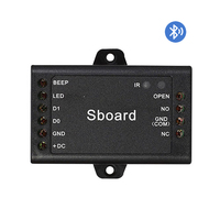Mini Size Smart Wireless BT Access Control Panel Wiegand Access Controller Board for Single Door Work with Mobile Phone APP