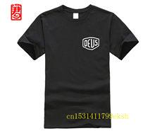 DEUS Dos Homens do Spandex do Algodão O-Neck Camiseta Homens Novo Estilo O Pescoço de Manga Curta TEE Ex Machina