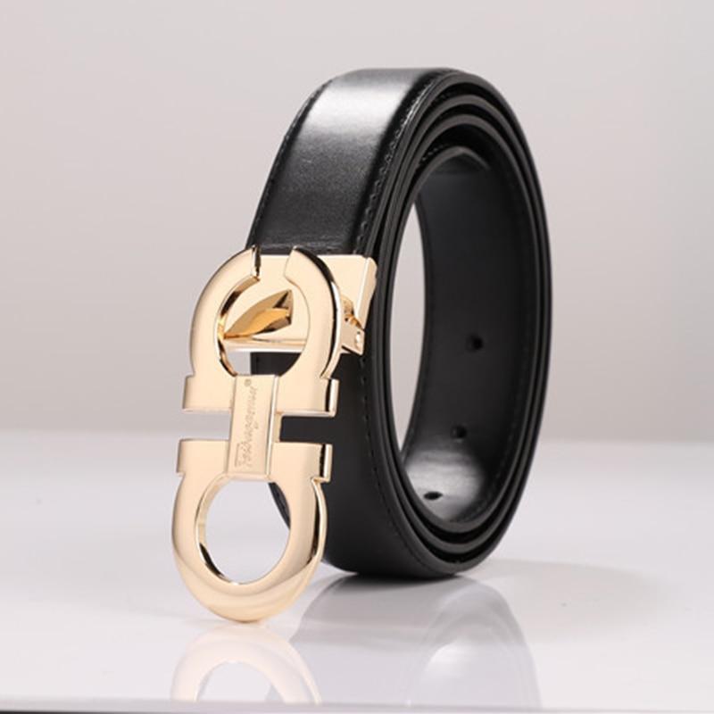 Designer Men's Genuine Leather Dress Belt Alloy Pin Buckle Belt For Men  Business Men Belt Fancy Fashion Jeans Belt