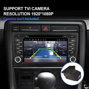 Image 2 - Lecteur multimédia de voiture Isudar H53 Radio automatique 2 Din Android pour Audi/A4/S4 2002 2008 GPS DVD 8 Core RAM 4 GB ROM 64 GB DVR DSP
