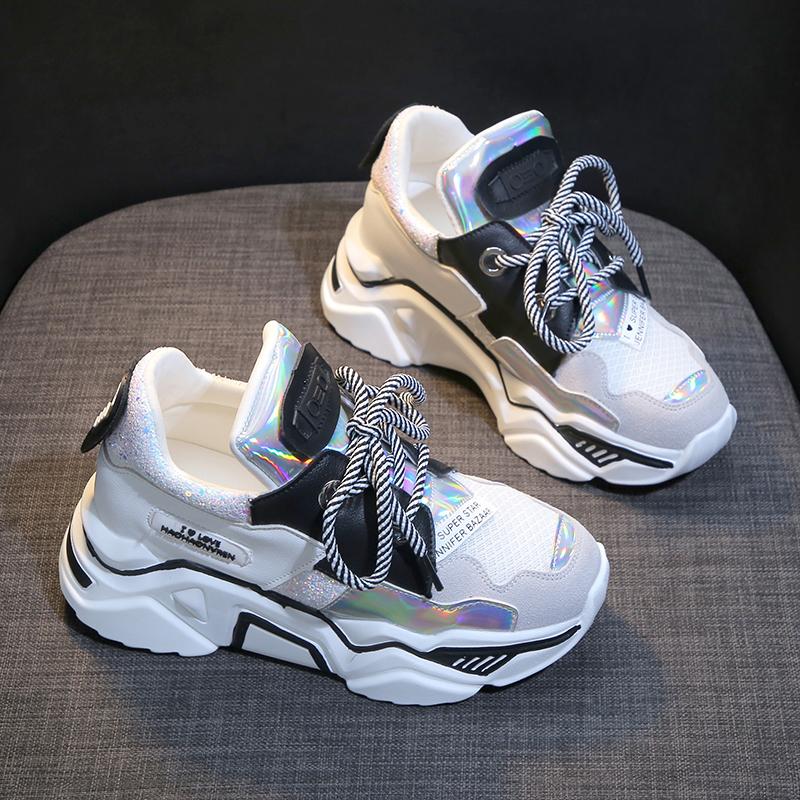 Mesh Style Transformer Sneakers 4