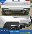 Для BMW X3 Body kit спойлер 2018-2019 для BMW X3 G01 ABS задний спойлер передний бампер диффузор защитные бамперы