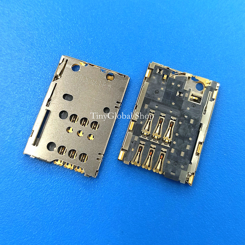Coopart New Sim Card Reader Holder Tray Slot Socket Connector Replacement For Nokia N8 C7 C700 Top Quality