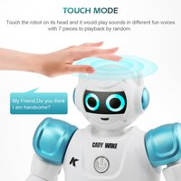 RC Remote Control Robot Smart Action Walk Sing Dance Action Figure Gesture Sensor Toys Gift for children