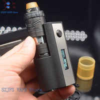 SXK Stealth 60W mod mit Dampf Riesen v6 v 6 m5S 23mm RTA vape E-Zigarette 0,91 OLED bildschirm vape 18650 batterie Mechanische stift kit