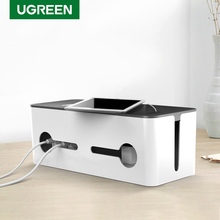 Ugreen Home Electronic Accessories Cable Organizer Box  for Power Strip Storage USB Charger Cable Management High capacity Box