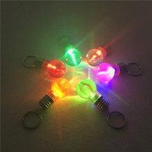 Заводской Креативный светодиодный фонарик на кнопках, мини-красочная лампочка, лампа не может сломать лампу