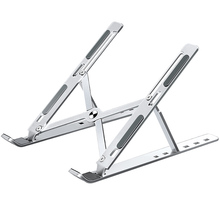 Portable Laptop Stand Adjustable Notebook Stand For Macbook Pro Aluminium Foldable Laptop Holder Base Vertical Notebook Support