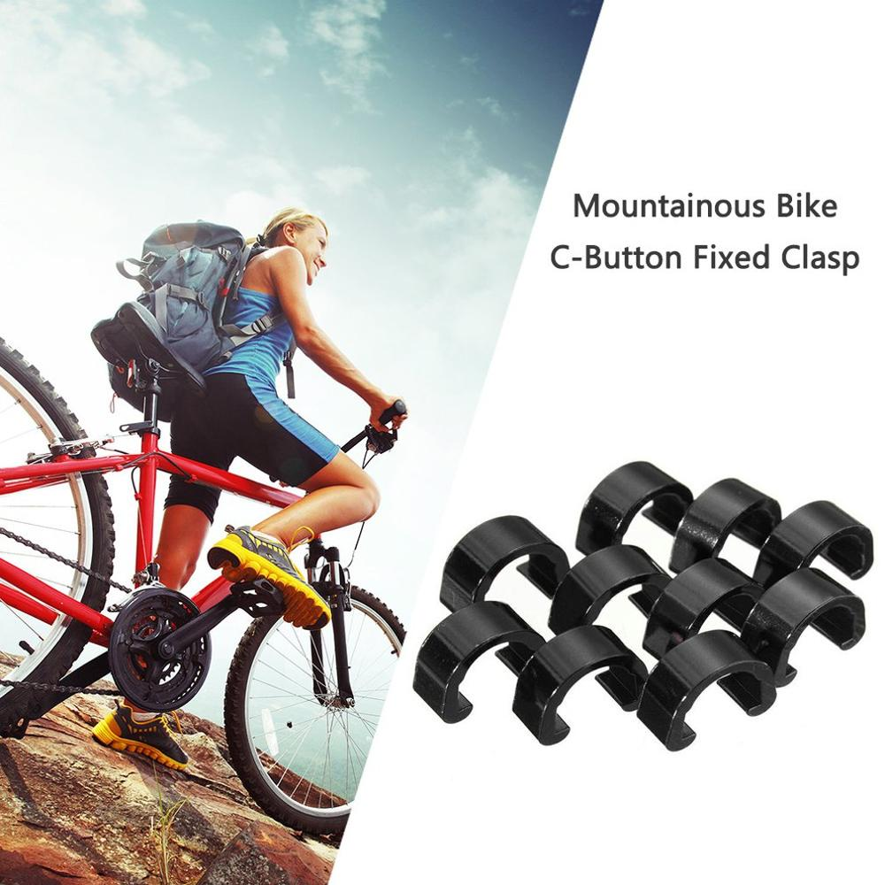 Mountain-Bike Guides Tubing-Buckle Cable Brake-Line-Tube Fixed-Tubing Alloy title=
