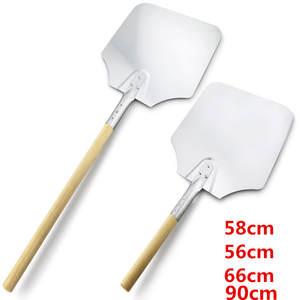 Shovel Cheese-Cutter Peels-Lifter-Tool Baking-Tools Pizza-Peel Wooden-Handle Aluminum