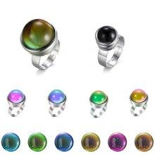 Einstellbare Klassische Lovers Stimmung Ring für Weiblich Männlich Paar Ringe Farbe Ändern Reif 1PC Dropshipping