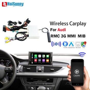 Wireless Apple Carplay For Audi A1 A3 A4 A5 A6 A7 A8 Q3 Q5 Q7 C6 MMI 3G RMC 2005-2018 Retrofit Car play Android Auto Mirrorlink