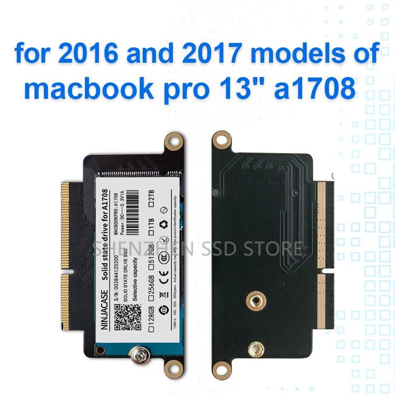 Новый A1708 ноутбук SSD 128 ГБ 256 ГБ 512g для Macbook Pro Retina 13,3