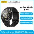 """Realme Uhr S pro Smart Uhr 1.39 """"Immer-Auf Display Leistungsstarke Dual-Prozessor Dual Satellite GPS Globale Version für Android iOS"""