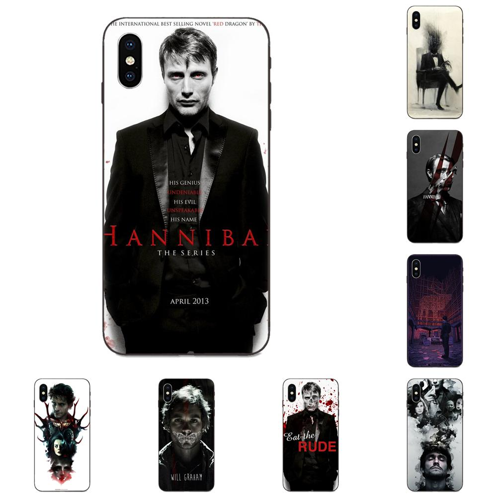 US $0.99 |Black Coque Phone Cover Case Awesome Graham Hannibal Mads Mikkelsen For Apple iPhone X XS Max XR 4 4S 5 5S SE 6 6S 7 8 Plus|Phone Case & ...