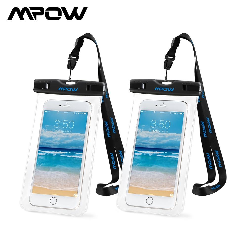 Mpow 2 Pack Universal 6.0 pulgadas IPX8 Bolsa de teléfono - Accesorios y repuestos para celulares