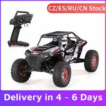 WLtoys 10428-B2 1/10 RC Car 2.4G 4WD 50Km/h Rock Crawler Off-Road Buggy Desert Baja RC Car RTR