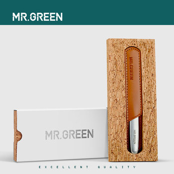 MR.GREEN Durable Nail File Stainless Steel Professional Double Sided Nail Sanding Grinding Buffer Manicure Nail Art Tools 6