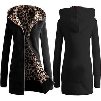 Rosetic Gothic płaszcz kobiety czarny zima Bluza na zamek