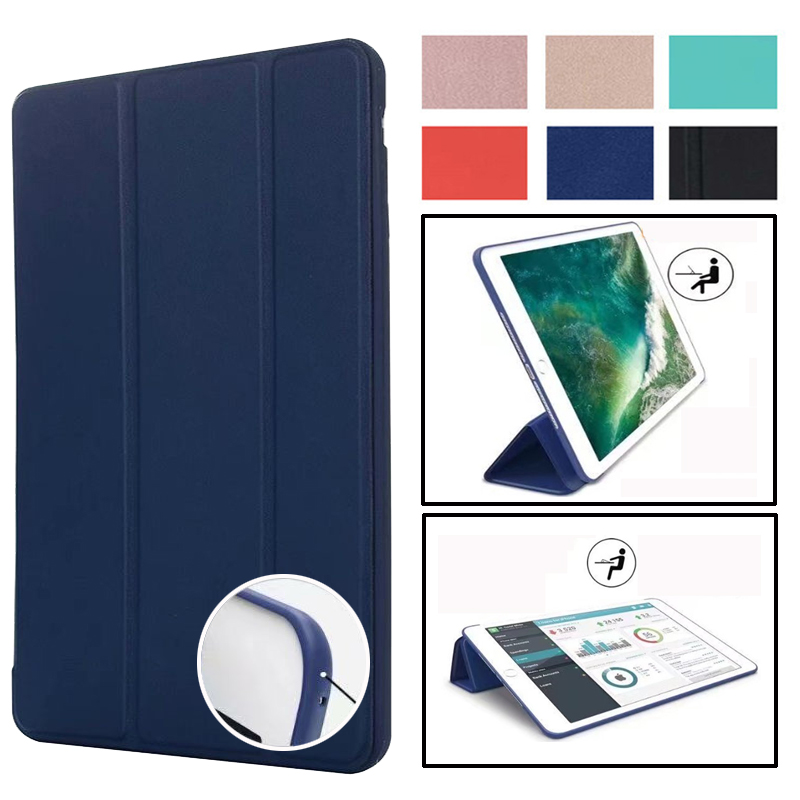 Magnet <font><b>Case</b></font> for <font><b>iPad</b></font> <font><b>Mini</b></font> 4 3 2 1 <font><b>Case</b></font> PU <font><b>Leather</b></font> Silicone Soft Back Trifold Stand Sleep Smart Cover for <font><b>iPad</b></font> <font><b>Mini</b></font> 2 <font><b>5</b></font> <font><b>2019</b></font> <font><b>Case</b></font> image
