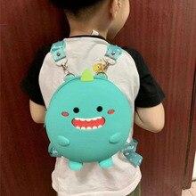 Mini Backpack Kids Soft Silicone Shoulder Bag For Children Girls Boys Multi-Function Small Bagpack Female Ladies School