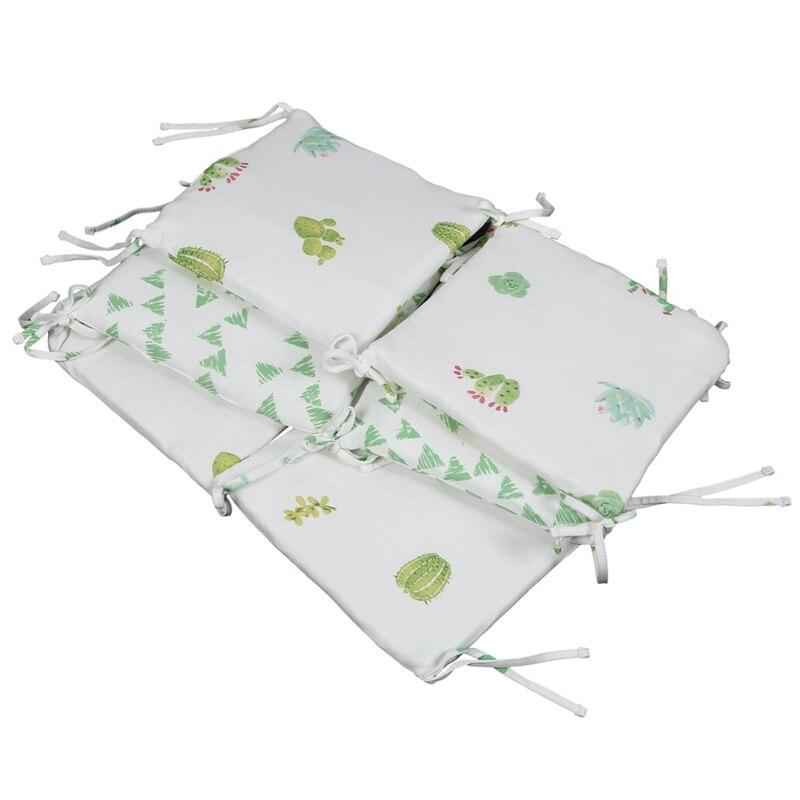 FBIL-Children's Cribs Cribs Bumper Bed Protectors Kindergarten Bumpers Boys And Girls Bedding 6 Pcs