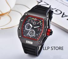 Jakość AAA Top Luxury Brand RM wodoodporny zegarek męski DZ Richard zegarki automatyczne zegarki na rękę Mille Man najlepsze prezenty dla mężczyzn tanie tanio Nicesnowl adjustableinch Luxury ru QUARTZ 10Bar Przycisk ukryte zapięcie CN (pochodzenie) Wolfram stali Szafirowe Nie pakiet