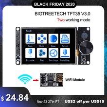BIGTREETECH TFT35 V3.0 dokunmatik ekran 12864LCD Wifi 3D yazıcı parçaları vs MKS TFT35 için SKR V1.4 Turbo SKR V1.3 CR10 ender 3 yükseltme