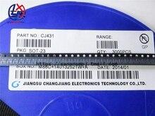 100PCS TL431 SOT TL431A SOT 23 431 SOT SMD neue spannung regler IC
