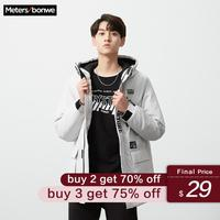 Metersbonwe New Winter Parkas Jacket fashion trend Casual thickened warm cotton padded clothes Slim baseball coats