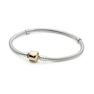 Image 4 - 100% hohe Qualität Mode Genuine Momente Gold Schnalle Armband Rose Schnalle Armband Exquisite Diy Schmuck Geschenk Für Frauen