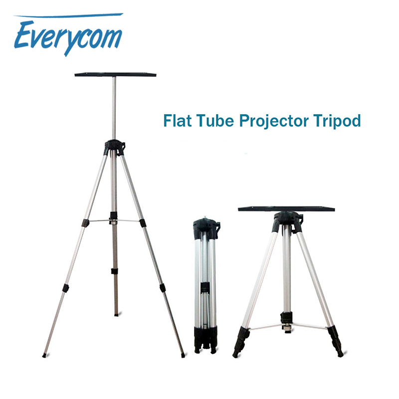 Everycom Projector Floor Stand Portable Tripod with Tray Adjustable Height For XGIMI CC XGIMI H1 XGIMI H2 Touyinger X7 JMGO J6S image