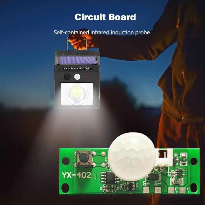 3.7V DIY Kit lampa słoneczna pokładzie sterowania czujnik noc moduł świetlny moduł kontrolera podczerwieni lampa słoneczna Panel pokładzie obwodu pokładzie